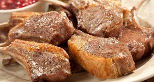 Thịt cừu Ninh Thuận xông khói