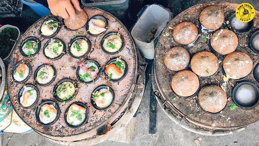 Khuôn bánh căn Ninh Thuận