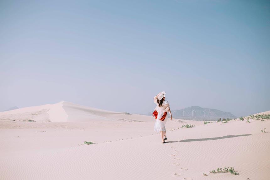Đồi Cát trắng Ninh Thuận