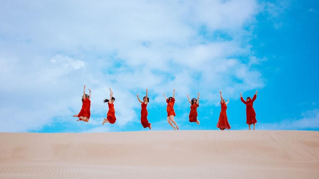 Du lịch đồi cát Ninh Thuận 2
